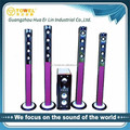 Factory wholesale 5.1 wireless speakers surround home and theater with USB/SD remote