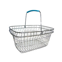 supermarket wire rack shopping basket A-6