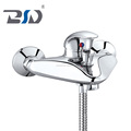 Design Water Tap bath Faucet Mixer , Zinc Alloy Handle Wall mounted bathtub faucet for bath