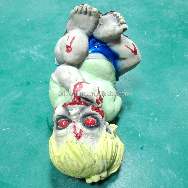 Natural Latex Foam Halloween Zombie Baby Horror Props Hand Easter Scary Mask