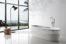 Hot sale modern house freestanding acrylic bathtub