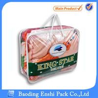 high quality fast delivery pvc bag for blanket package