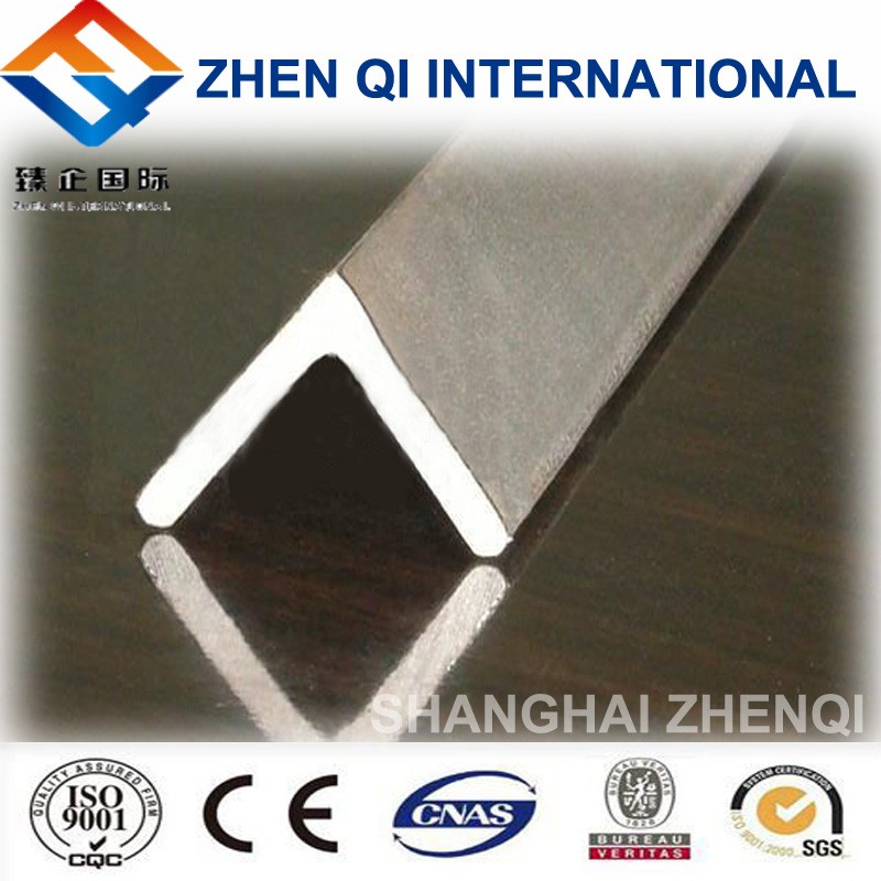 china low price steel angle iron on actual/theoretical weights