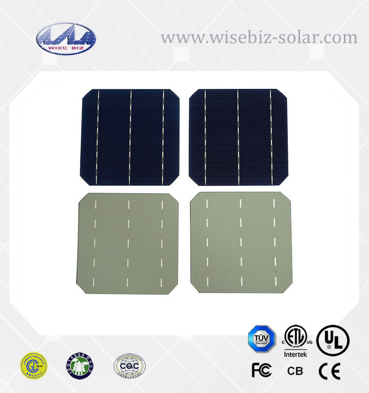 Cheap price high efficiency 4.8 watt to 5w multi monocrystalline solar cells 156x156 price