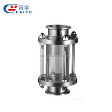 Food grade stainless steel high pressure flange sight glass