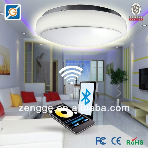 remote control led light system led ceiling light 3 x 1 w
