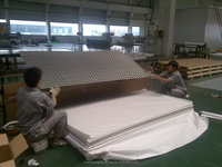 comeptitive price and quality checker plate weight /aluminium tread plate/ aluminium chequer platefor different usage