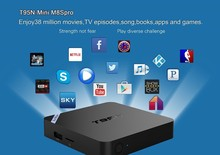T95N amlogic S905 CPU RAM 2GB ROM 8GB kodi 16.0 android 5.1 T95N MINI M8S Pro + android tv box t95m t95 t10 plus