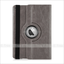 Fashion Design 360 Rotating Smart Case PU Leather Cover Stand with Auto Wake and Sleep for ipad 6