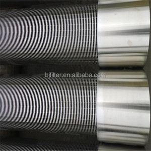 manufacture factory perforated slot filter sand control continuous slot v wire wrapped water well slotted casing pipe