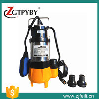 500w water pump using submersible sewage pump