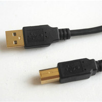 Black Gold Plated USB Printer Scanner