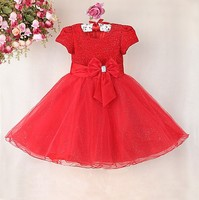 children beautiful dress sleeveless girl party wear dress for wedding party walson