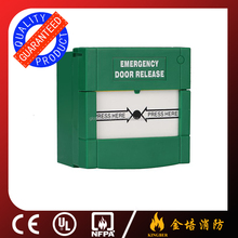 Fire fighting alarm and fire alarm button glass broken access switch broken glass emergency button alarm bell