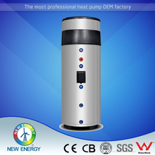 extra electric heating 3KW 250L 300 L hot sale monobloc air source heat pump all in one for dhw