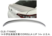 TY060C car rear lip spoiler for TOYOTA COROLLA 14+ U.S.A
