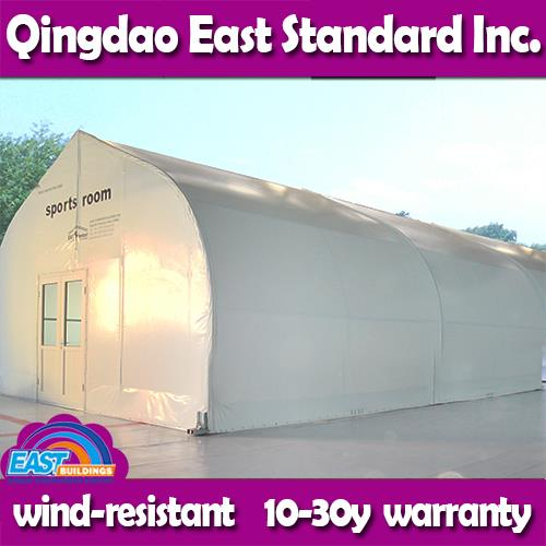 East Standard house style storage sheds low cost aircraft canopy for sale