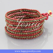 Yiwu landy jewelry factory handmade bracelet CL571