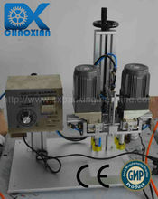 Guangzhou CX practical desktop pneumatic shower cap capping machine for small production