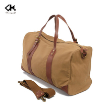 High Quality Canvas Travel Tote Bag Supplier