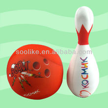 The soft and newest body cushion in bowling shape