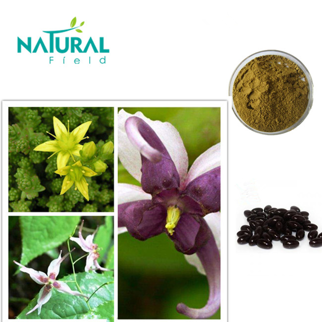 With 12 years experience traditional Chinese herbs extract icariin 40% epimedium extract