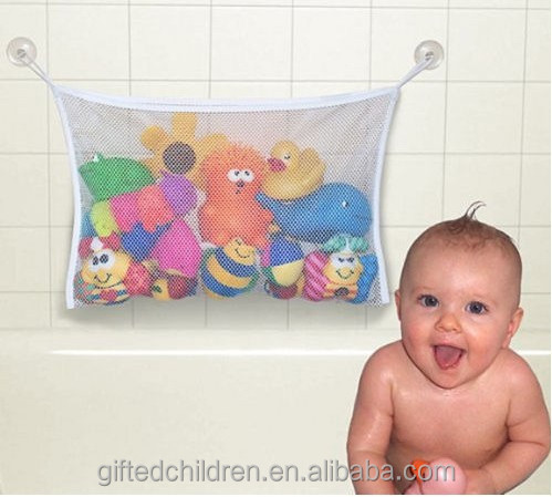 Customize Kids Bath Toy Organizer/hanging mesh toy organizer