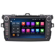 "8"" Android 2 Din Car GPS Navigator multi media player for Toyot a Corolla 2007-2011"