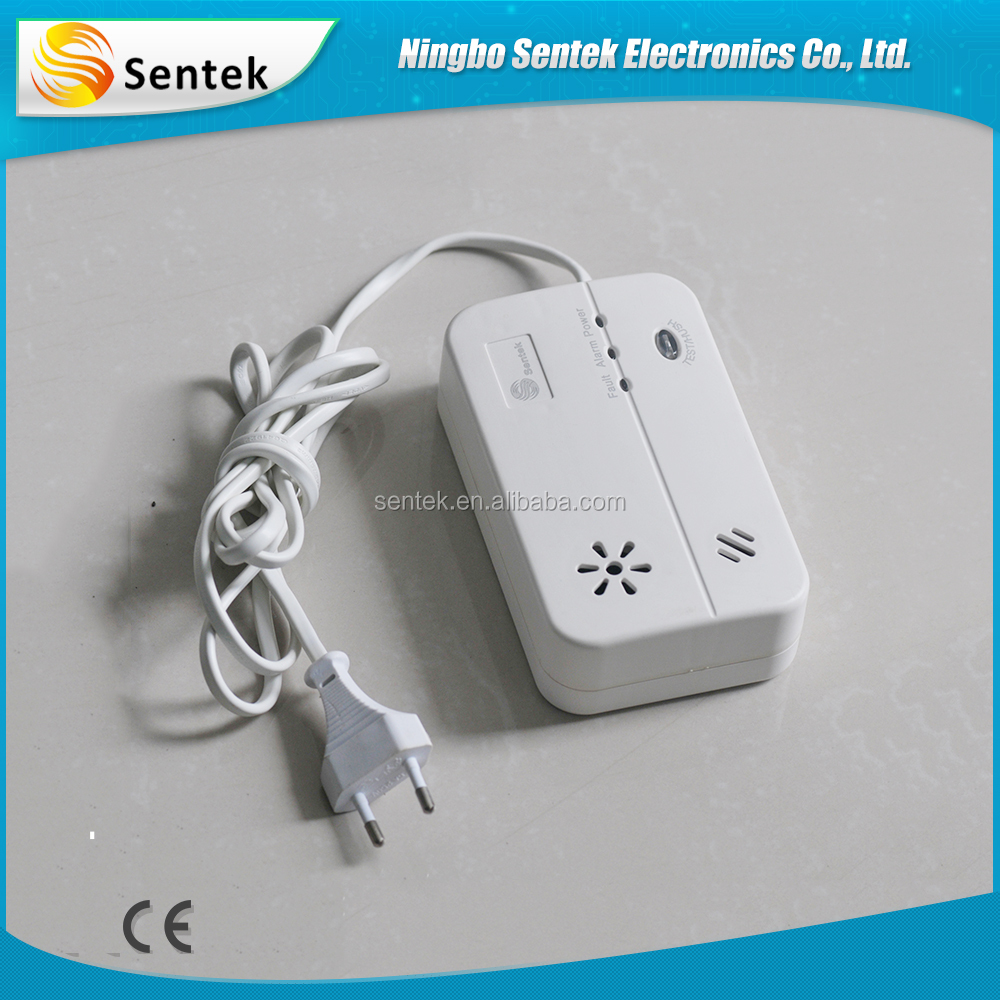 Liquefied petroleum stand alone carbon monoxide detector for safety