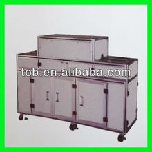 Mobile phone battery making machine / three in a molding machine with cutting,folding and perm function