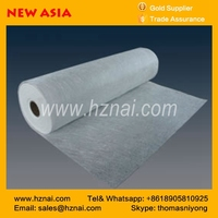 Top Quality E-glass Powder Binder Fiberglass Chopped Strand Mat for cooling tower