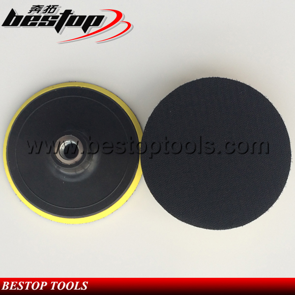 Bestop Hot Sale 150mm Male Backing Pad Plastic Back Up Pad for Wet Polisher