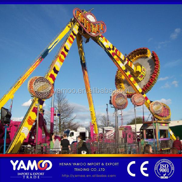 Attractions and Thrilling !! Swing Outdoor Amusement Park Rides, 24 Seats Big Pendulum!