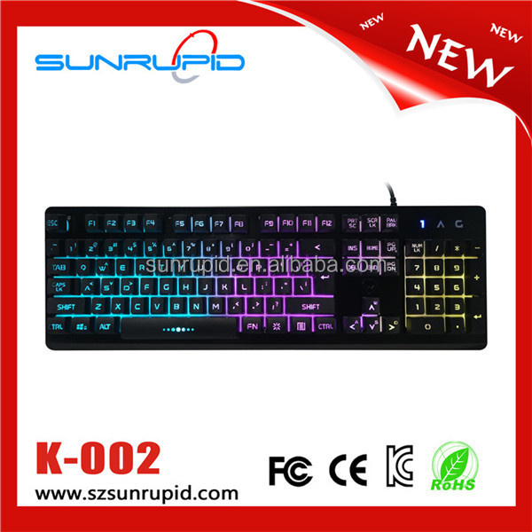 104 Keys RGB Backlit Gaming computer Keyboard keycap mold