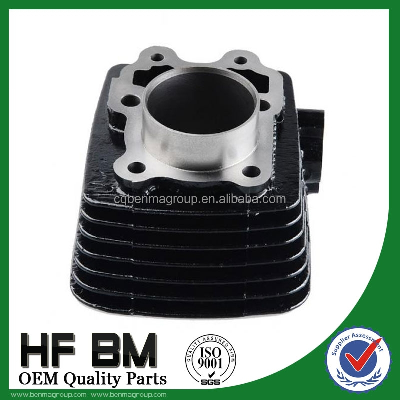 Cast Iron Cylinder Block For Motorcycle Engine BAJAJ100 / CT100 / BOXER