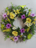 Artifical handcraft Easter Decorations flower Wreath Supplies