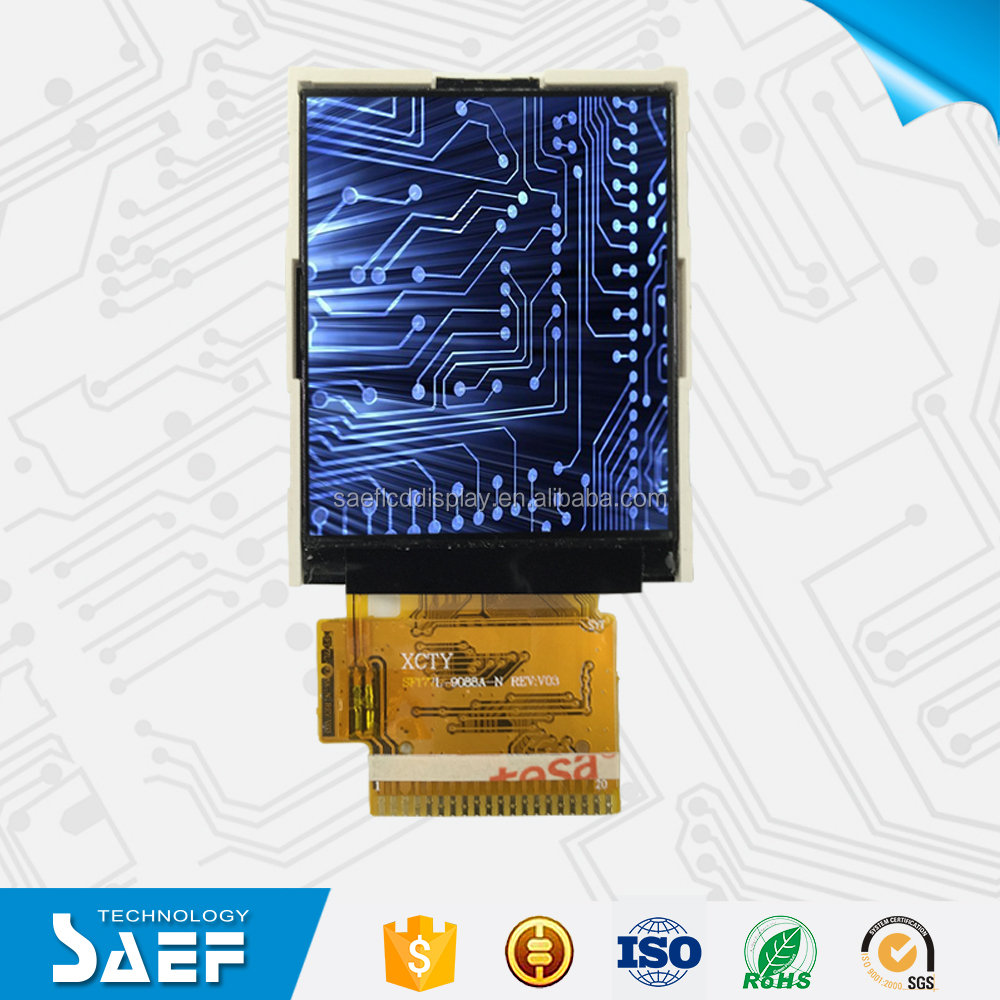 1.77 inch TFT screen panel 128*(RGB)*160 TFT lcd without touch panel