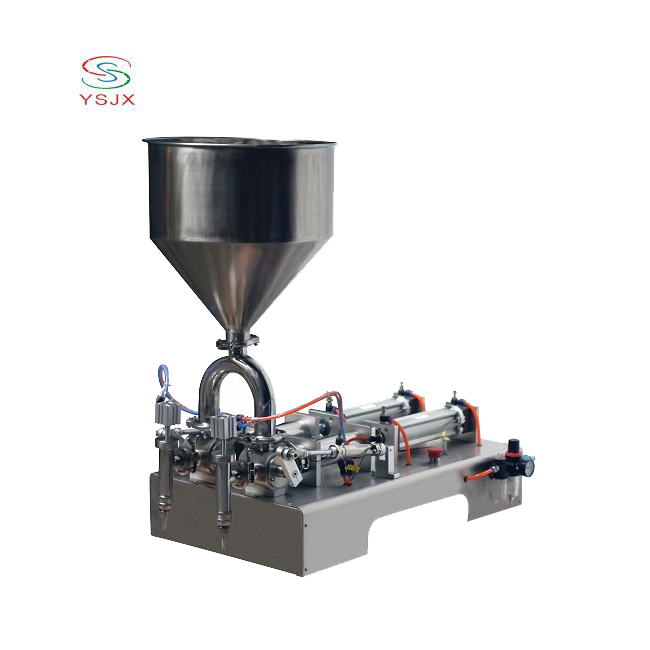 high quality semi auto pneumatic liquid shampoo shower filling machine for hospital