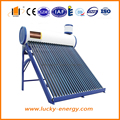 cheap price family use non pressurized solar water heater