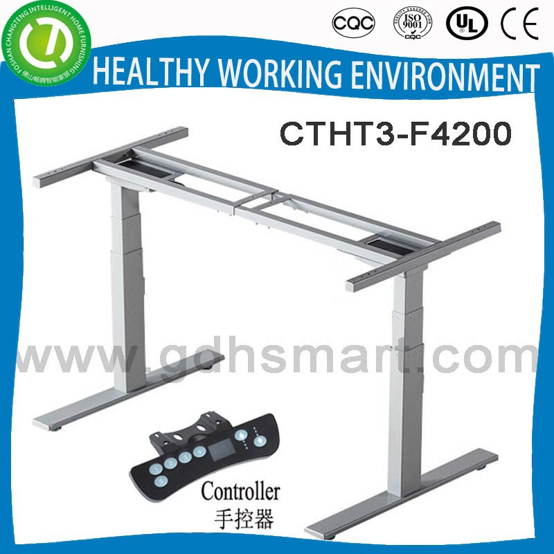 import office furniture from china: height adjustable electric up and down desk frame