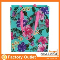 factory supply dongguan factory made holographic gift bag