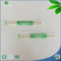 Cheap And Super Quality Customized Disposable Chinese Round Bamboo Bamboo Personalized Chopsticks Opp Wrap