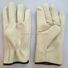 2015 Fashion Driving Gloves Cow Grain Men's Genuine Leather Gloves