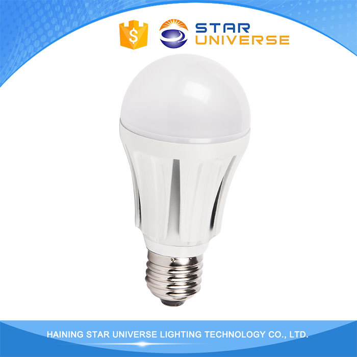 2016 New Style A60 Plastic And Aluminum E27 Led Light Bulbs Made In China