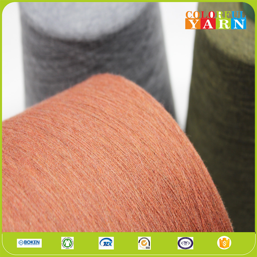 100%cotton combed knitting yarn for sweater