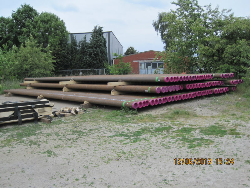Seamless Line Pipes, Casing API5CT (made in Germany)