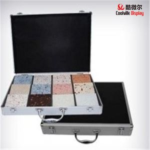 Ceramic Tile Sample Cases Granite Stone Display Boxes