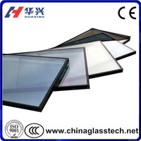 Flat/Curved Energy-saving Factory Supply Thermal Pane Glass