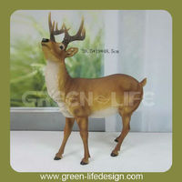 Resin life size deer statues