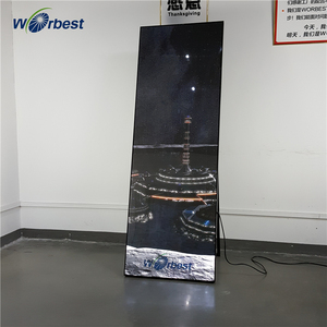 Worbest hot sale high quality mirror wall panel magic mirror advertising display LED mirror TV advertising
